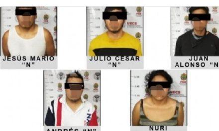 Rescatan a víctima de secuestro y detienen a 5 involucrados en Córdoba