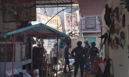 Se incendia cuarto de vecindad de Boca del Río