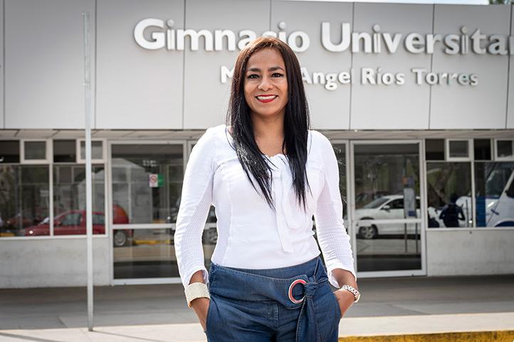 Jeysira Jacqueline Dorantes Carrión habló de las ventajas de la plataforma Eminus 3