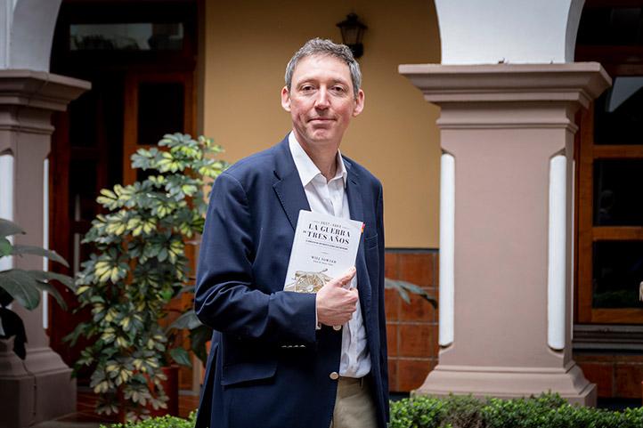 Will Fowler, profesor-investigador en la Universidad de St. Andrews, Reino Unido