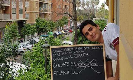 Alumno UV en España recomienda tranquilidad ante Covid-19