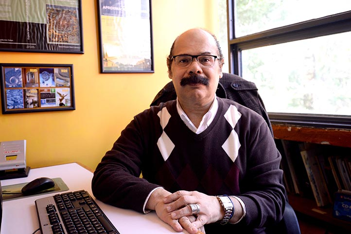 Daniel Rolando Martí Capitanachi, académico de la Facultad de Arquitectura