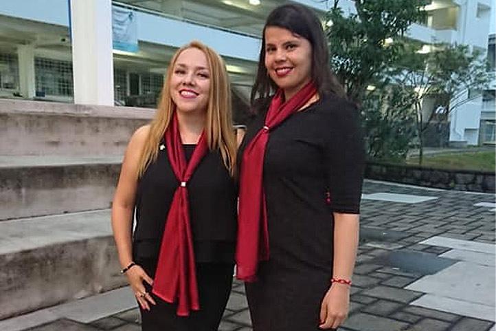 Anid Hernández y Susana García, académicas del SEA