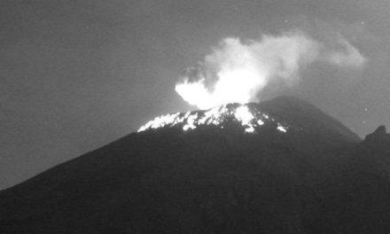 Después del Krakatoa, el Popocatépetl también registra explosión