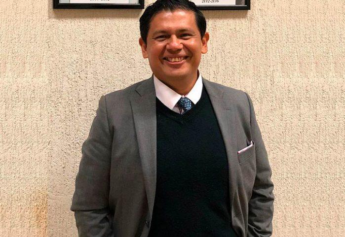 Juan Grapain Contreras, director de Psicología región Xalapa y Presidente del Consejo Nacional para la Enseñanza e Investigación en Psicología, A.C.
