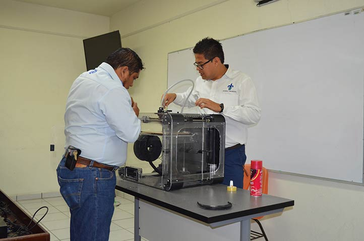 Preparación de la impresora 3D