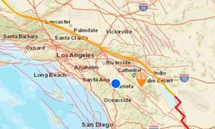UN SISMO DE MAGNITUD 4,9 SACUDE CALIFORNIA Y GRAN PARTE EN EL NORTE DE MÉXICO