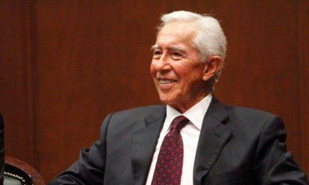 Falleció Pichardo Pagaza ex gobernador del Edomex