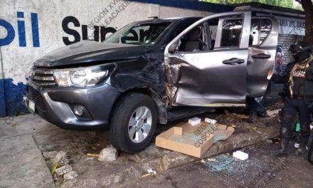 Detiene SSP a dos por presunto robo de vehículo, en Minatitlán