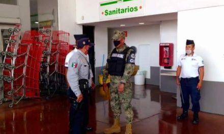 """Participa IPAX en operativo """"Antisaqueo"""" durante emergencia sanitaria por COVID–19"""
