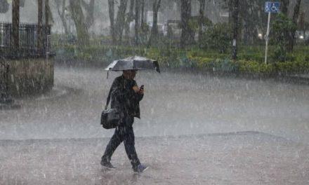 Canal de baja presión originará lluvias en centro y sur de México