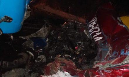 Fuerte accidente en la carretera Soledad de Doblado – Santa Rita