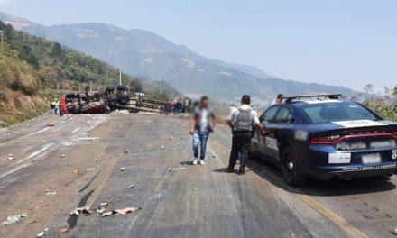 Se registra cierre de circulación por AccidenteVial km 235+500 Aut. Puebla-Córdoba, mismo tramo, dirección Veracruz
