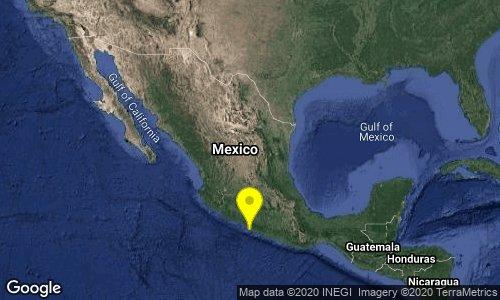 Sismo de magnitud preliminar 5.2 en Guerrero se percibe en CDMX