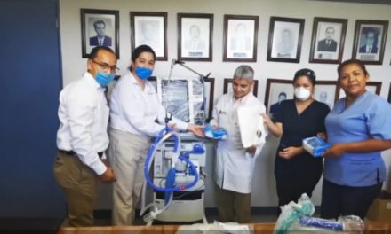 Tamsa dona equipo de protección a personal de salud de Veracruz