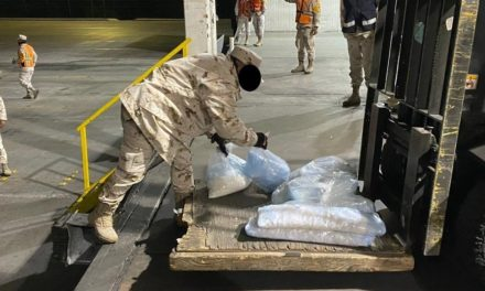 Decomisan 300 kilos de metanfetamina en Sonora