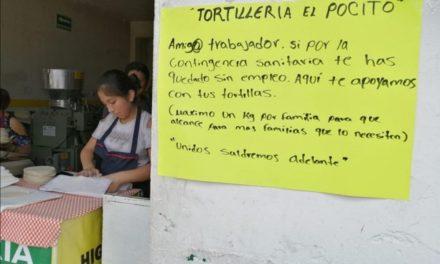 Negocio de Xalapa regala tortillas a quien perdió su empleo por pandemia