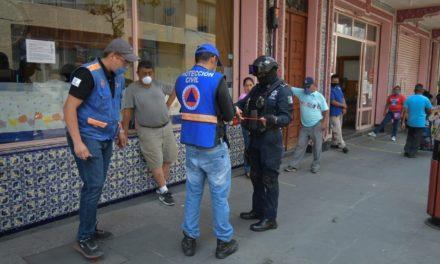 Clausura la sucursal de bancaria de BANAMEX ante negativa a acatar las medidas preventivas de sana distancia en Córdoba