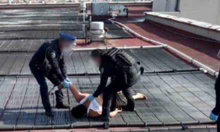 Policías evitan suicidio de persona con Covid-19 en la ciudad de México