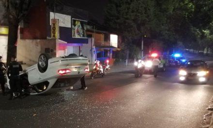 Accidente en circuito presidentes dirección Coatepec
