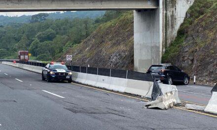 Accidente en la autopista Xalapa – Perote