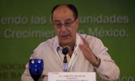 Murió Jaime Ruiz Sacristán, presidente del Consejo de Administración de la BMV