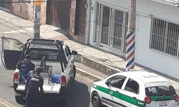 Detiene SSP a 4 sujetos por robo a comercio y portación de armas, en Xalapa