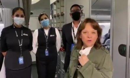 Parte a Shanghái vuelo para traer equipo médico a México