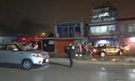 Se registra accidente en la carretera Xalapa-Coatepec