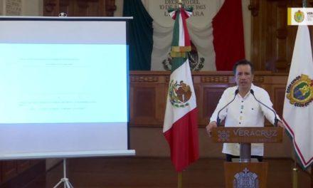 """Veracruz en el momento crucial¸ """"son clave los próximos 15 días"""": Cuitláhuac García Jiménez"""