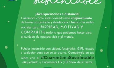 CoSustenta presentó iniciativa Cuarentena Sustentable