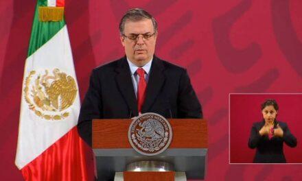 México participa en el desarrollo de la vacuna contra el COVID-19: Marcelo Ebrard