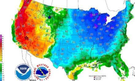 Clima extremo e inusual vórtice polar que golpeará a Estados Unidos