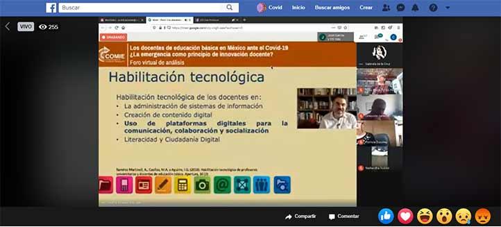 Alberto Ramírez Martinell relató la creación y alcance de los MOOC de saberes digitales para docentes