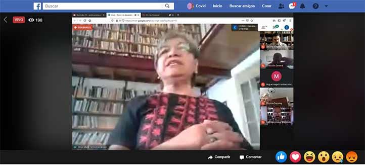 Rosa María Torres resaltó la importancia de aprender con los docentes sobre sus prácticas pedagógicas