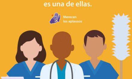 Estudiantes UV invitan a sumarse al reconocimiento a personal de salud