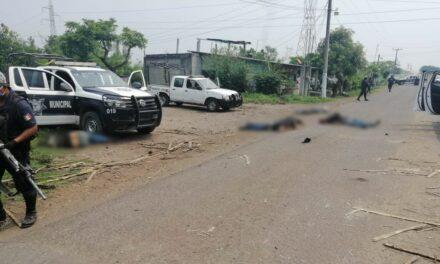 Enfrentamiento entre policías y delincuentes, deja 6 muertos en Acatlán de Pérez Figueroa, Oaxaca