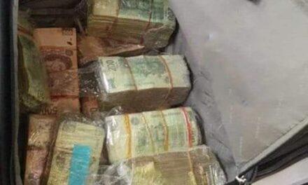 Paseaba con 4 mdp en efectivo en auto blindado; El hombre fue arrestado en la alcaldía Venustiano Carranza; no pudo acreditar la procedencia legal del dinero