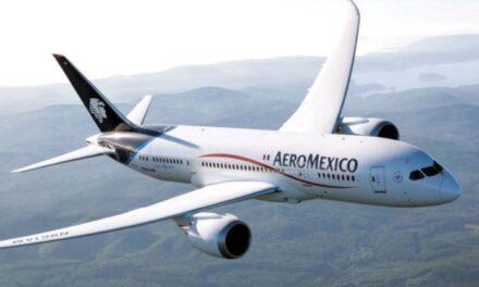 Anuncia Aeroméxico reapertura e incremento de vuelos a partir de junio