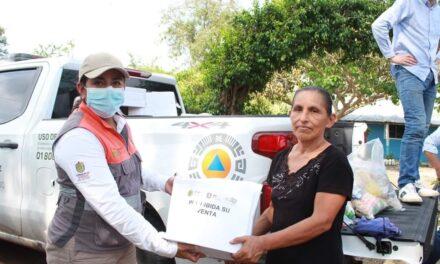 La Secretaría de Protección Civil solicitó la declaratoria de emergencia para 10 municipios de la región norte de Veracruz por los daños ocasionados por la turbonada registrada el pasado 21 de mayo.