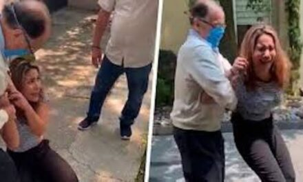 Notario pide disculpas tras violentar a su esposa en la vía pública