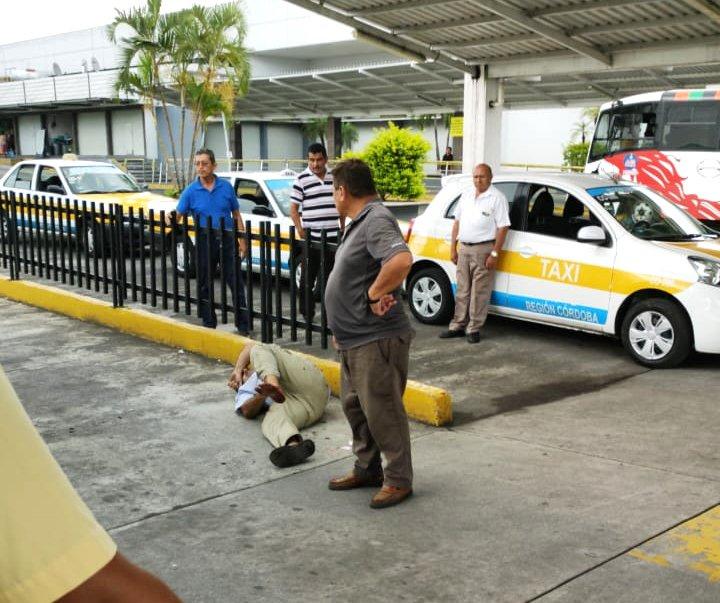 Agreden a hombre oriundo de Orizaba en la terminal en la terminal de Córdoba