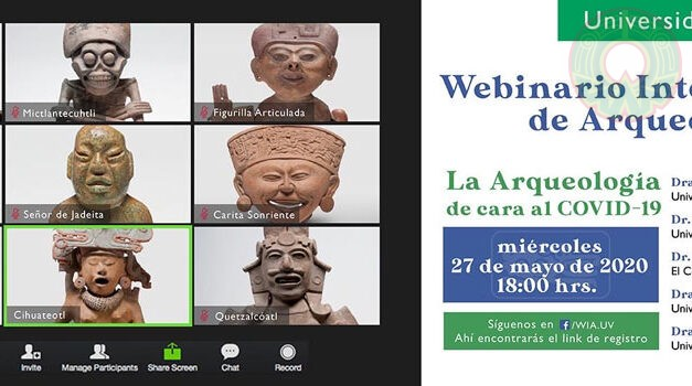 UV convoca a Webinario Internacional de Arqueología