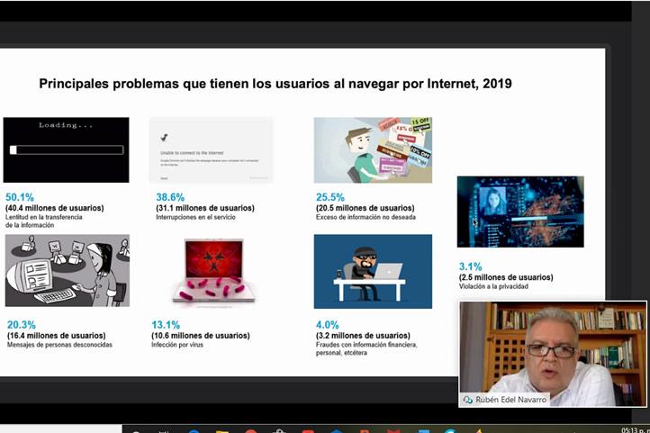Principales problemas que tienen los usuarios al navegar por Internet