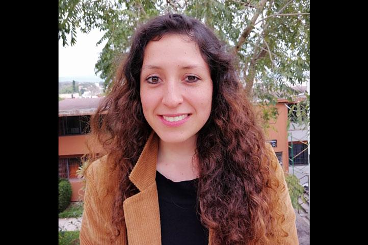 Nancy Martínez Martínez, estudiante de la Maestría en Ciencias de la Salud