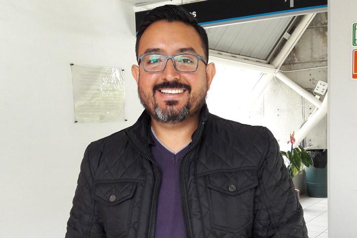 Oscar Guzmán Martínez, alumno del Doctorado en Ciencias Biomédicas de la UV