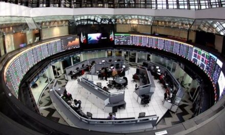Logra Bolsa Mexicana alza de 3.98% en línea con mercados globales