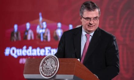 Marcelo Ebrard informa que por Covid-19 mil 66 mexicanos han muerto en Estados Unidos