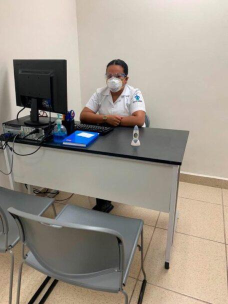Consulta médica y enfermería