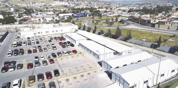 Grupo Modelo anunció la instalación de un hospital temporal en Tijuana, Baja California, para atender a pacientes con coronavirus (COVID-19).